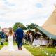 Tipi wedding Hertfordshire