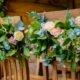 Summer House wedding flowers at South Farm wedding venue in Royston, Hertfordshire