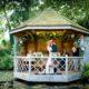 Wedding ceremony South Farm wedding venue in Hertfordshire