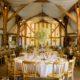 Wedding reception at South Farm wedding venue in Hertfordshire