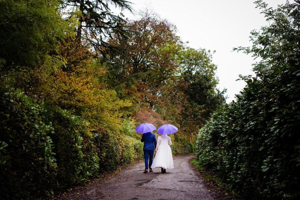 Rain on a wedding day
